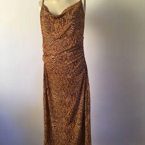 Slink leopard dress
